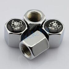 Motors Accessories Tyre Valve Air Airtight Caps Wolf Head Emblem Dust Hat Trim