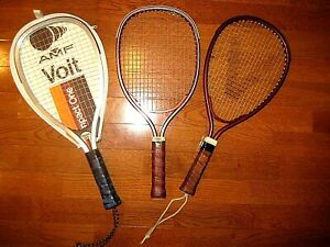 Vintage Racquetball Racquet -  3 Racquets included in order