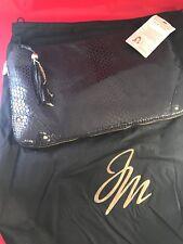 Joy Mangano Black The Designer Drop Bag Purse NIB Clutch Handle Versatile