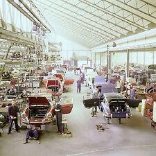 Late 60s Porsche Assembly line 8 x 8 Photograph