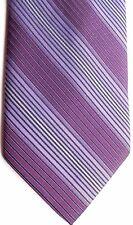 "Renzo Men's Polyester Tie 58.5 X 3.5"" Multi-Color American Stripes"