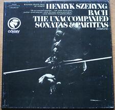 "Szeryng ""Bach the unaccompanied Sonatas & Partitas"", Odyssey box set"