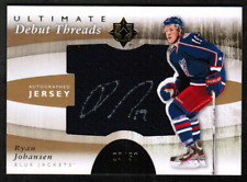 11-12 Ultimate Collection Debut Threads Ryan Johansen Jersey Auto /50 (rf 32347)