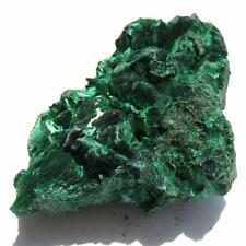 FIBROUS Chatoyant GREEN MALACHITE CRYSTAL SPECIMEN  CONGO AZ92 124 g