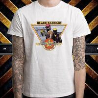 Black Sabbath Never Say Die Tour 78 Men's White T-Shirt Size S M L XL 2XL 3XL