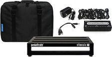 "Pedaltrain Classic JR 18""x 12.5"" Softcase Pedalboard Bundle w/Power Supply!"