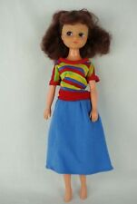 Otto Simon FLEUR brunette doll in MIX N MATCH outfit #1229 Dutch Sindy 80's