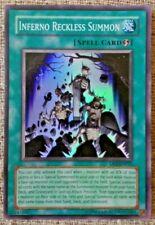 Yugioh DP2-EN025 Inferno Reckless Summon super rare