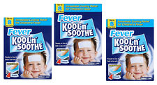 Kool N Soothe Kids Cooling Strips Sachets 4 Pack of 3