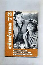 CINÈMA 72-Le Guide Du Spectateur N. 164#Federation Francaise des Cinè Clubs 1972