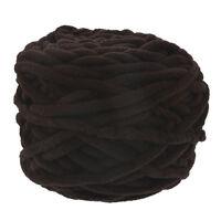 100g Skeins Hand Knitting Wool Crochet Super soft Chunky 1Ply Chenille Milk Yarn