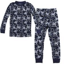 Kids Two-Piece Organic Cotton Pajamas Little Boys Toddler PJs Pants Shirt Child