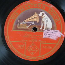 "78rpm 12"" ENRICO CARUSO cujus animam  , single side"