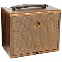 Kinsman 25w Acoustic Amplifier Busking Amp Mains / Battery Powered with Chorus