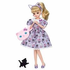 Takara Tomy Licca Doll Ld-09 Cat Dress Coordinate Rika-chan Licca-chan Japan.
