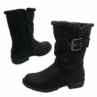 Little Girls Grosby Giselle Boots Zip Elastic Side 3 Colours Size 4-10 New