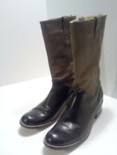 CORDANI CALZATURE WOMENS 100% LEATHER BOOTS LINED & BACK ZIPPED. 9.5