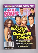 ABC SOAPS IN DEPTH GENERAL HOSPITAL THE SHOCKERS THAT WILL CHANGE GH JAN 2003