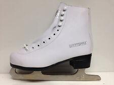 Winnwell weiß Eiskunstlauf Schlittschuhe Gr. 31 Kinder Schlittschuh Zacken