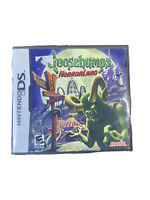 Goosebumps HorrorLand (Nintendo DS, 2008) Tested (CIB) With Manual