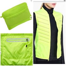 Nike Aeroloft 800 Running Vest Women's Goose Fill Down Packable Gilet Volt XL