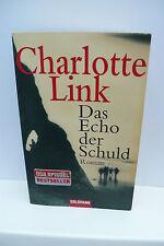 BUCH DAS ECHO DER SCHULD CHARLOTTE LINK KRIMI THRILLER  ROMAN TASCHENBUCH  BOOK