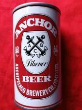 Anchor Pilsener Beer Archipeligo Brewery Singapore Straight Steel Top Opened