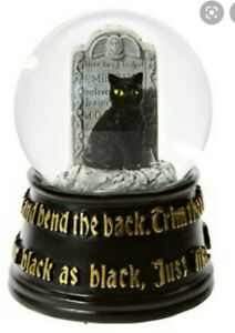 Hocus Pocus Thackery Binx Musical Snow Globe Spirt Halloween disney new sold out