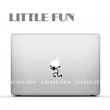"""Macbook Aufkleber Sticker Skin Decal new Macbook 12"""" Pro 15""""Strichmaennchen B06"""