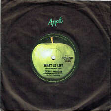 "GEORGE HARRISON - WHAT IS LIFE - 7"" 45 VINYL RECORD - 1971"
