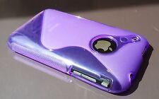 S line Gel case iPhone 3 3G 3GS    TPU  Back Cover Case skin Purple