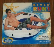 Intex River Run 1 Lounge Inflatable Float Water Tube Raft Lake Pool