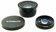 Polaroid 0.42x Fisheye Converter Lens + Macro Lens 58mm Screw Mount Canon fit
