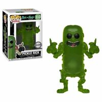 "EXCLUSIVE RICK & MORTY - PICKLE RICK TRANSLUCENT 3.75"" POP VINYL FIGURE FUNKO"
