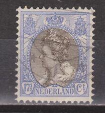 NVPH Netherlands Nederland 67 used Wilhelmina bontkraag 1899-1921 Pays Bas