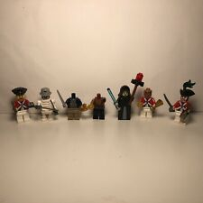Various LEGO Minifigures, Pirates Of The Caribbean, Batman, Starwars Figures