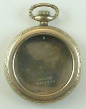 Antique 6 Size White Gold-Filled Challenge Pocket Watch Case