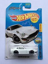 Hot Wheels Fugu Z Sung Kang NISSAN Datsun Fairlady Z 240Z Nismo Prince Tune JDM