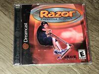 Razor Freestyle Scooter Sega Dreamcast Complete CIB Authentic