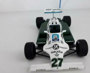 Alan jones Williams FW07B 1980 1/18 Rare F1 Spark Ford World Champion