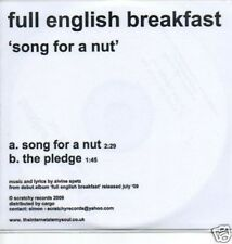(344O) Full English Breakfast, Song For A Nut - DJ CD