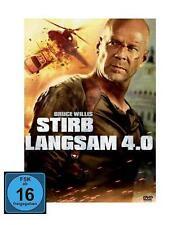DVD STIRB LANGSAM 4.0 - alte FSK - BRUCE WILLIS + JUSTIN LONG *** NEU ***