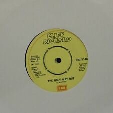 """CLIFF RICHARD 'THE ONLY WAY OUT' UK 7"""" SINGLE"""