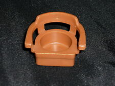 Fisher Price Little People Vintage Brown CHAIR