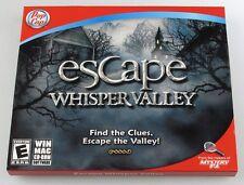 PopCap Escape Whisper Valley Find the Clues, Escape the Valley! PC/MAC NEW