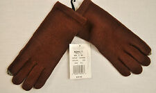 NWT! WOMEN'S TOUCH & GO ONE SIZE GLOVES BROWN KNITUSE WITH MOBILE POHNE MSRP $30