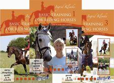 Basic Training for Riding Horses, Vol.1 - 3 Ingrid Klimke - DVD