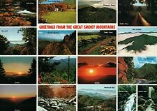 Greetings from The Great Smoky Mountains National Park, NC, TN --- Postcard