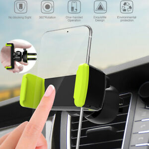 Universal Car Air Vent Phone Holder 360° Rotating Mount For iPhone Cell Phone