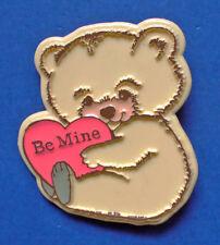 BUY1&GET1@50%~CM Paula/Morgan PIN Valentines ❤️ BEAR w Be Mine HEART Vtg Holiday